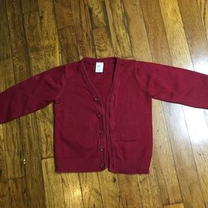 Boys H&M Long sleeve V Cut Button Down Sweater